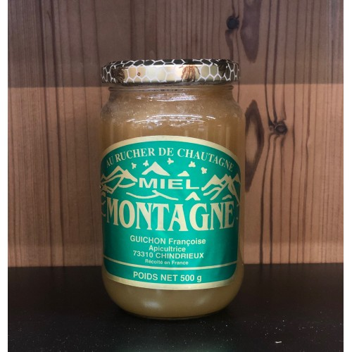 MIEL DE MONTAGNE 500GR